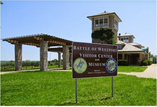 The nearby Battle of Westport Visitor Center and Museum contains a wealth of knowledge about the battle.