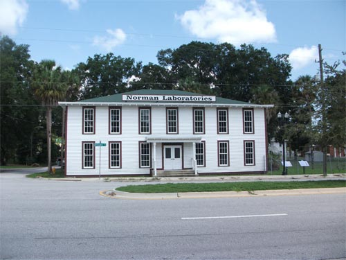The main building of Norman Studios, from the National Park Service website