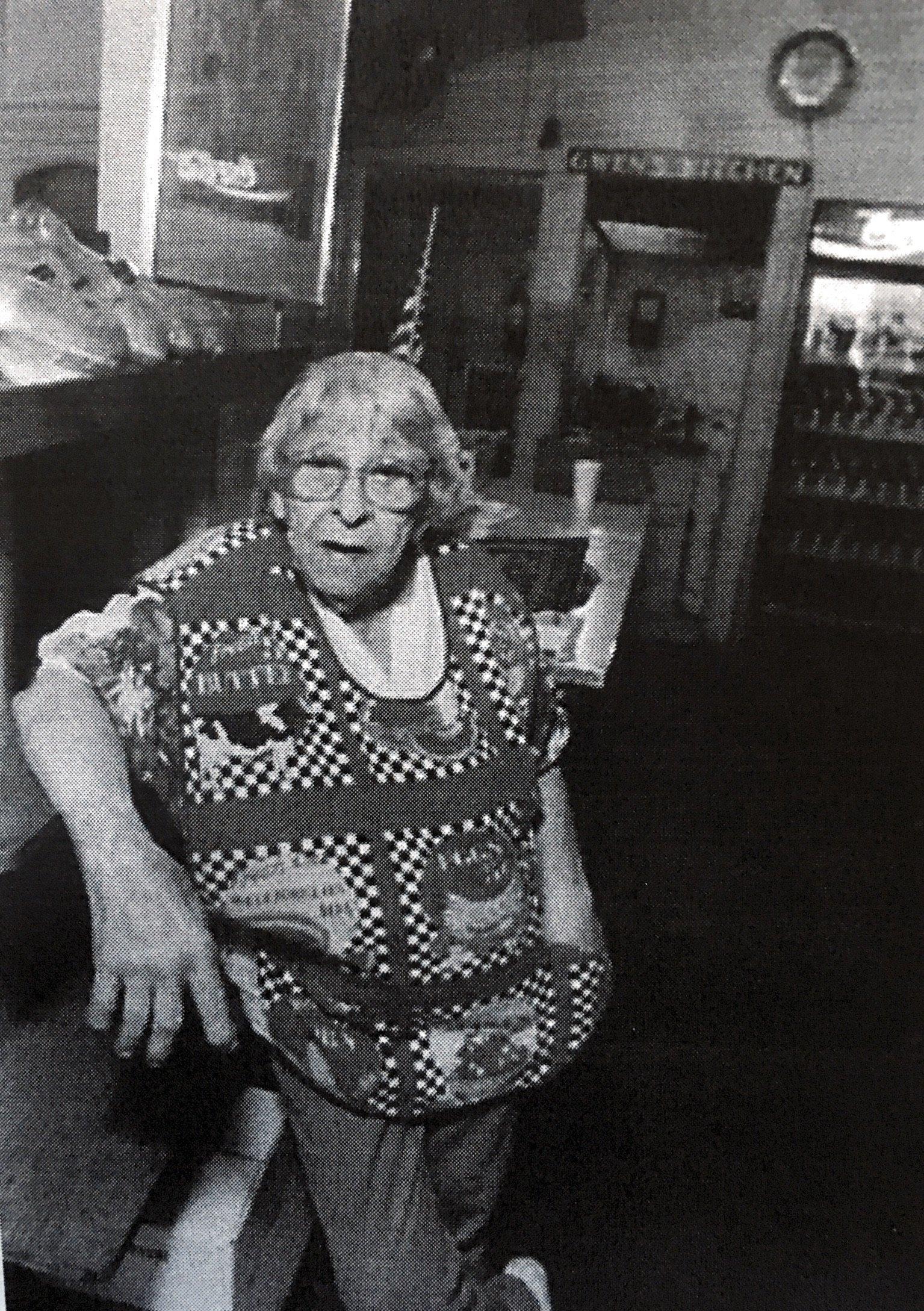 Gwen Clingman from Goldenseal, Spring 1999.