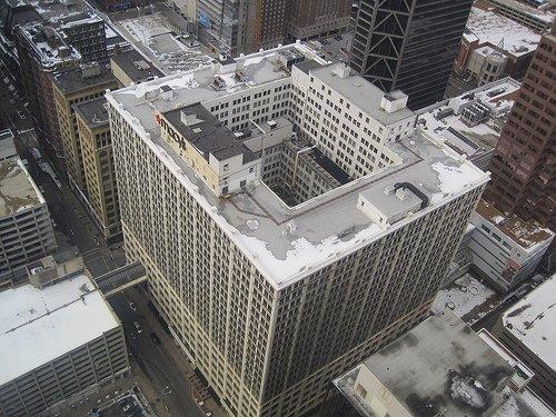 Railway Exchange Building - Top view