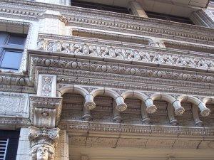Railway Exchange Building - Detail