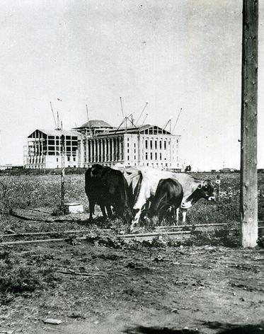 Under Construction, 1916 (image from Oklahoma Historical Society)