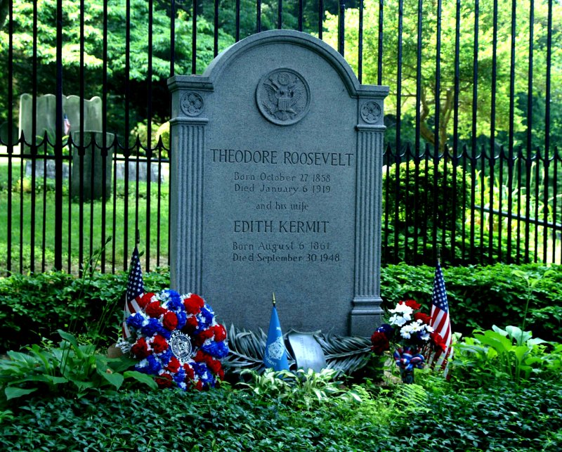 Grave of Theodore Roosevelt