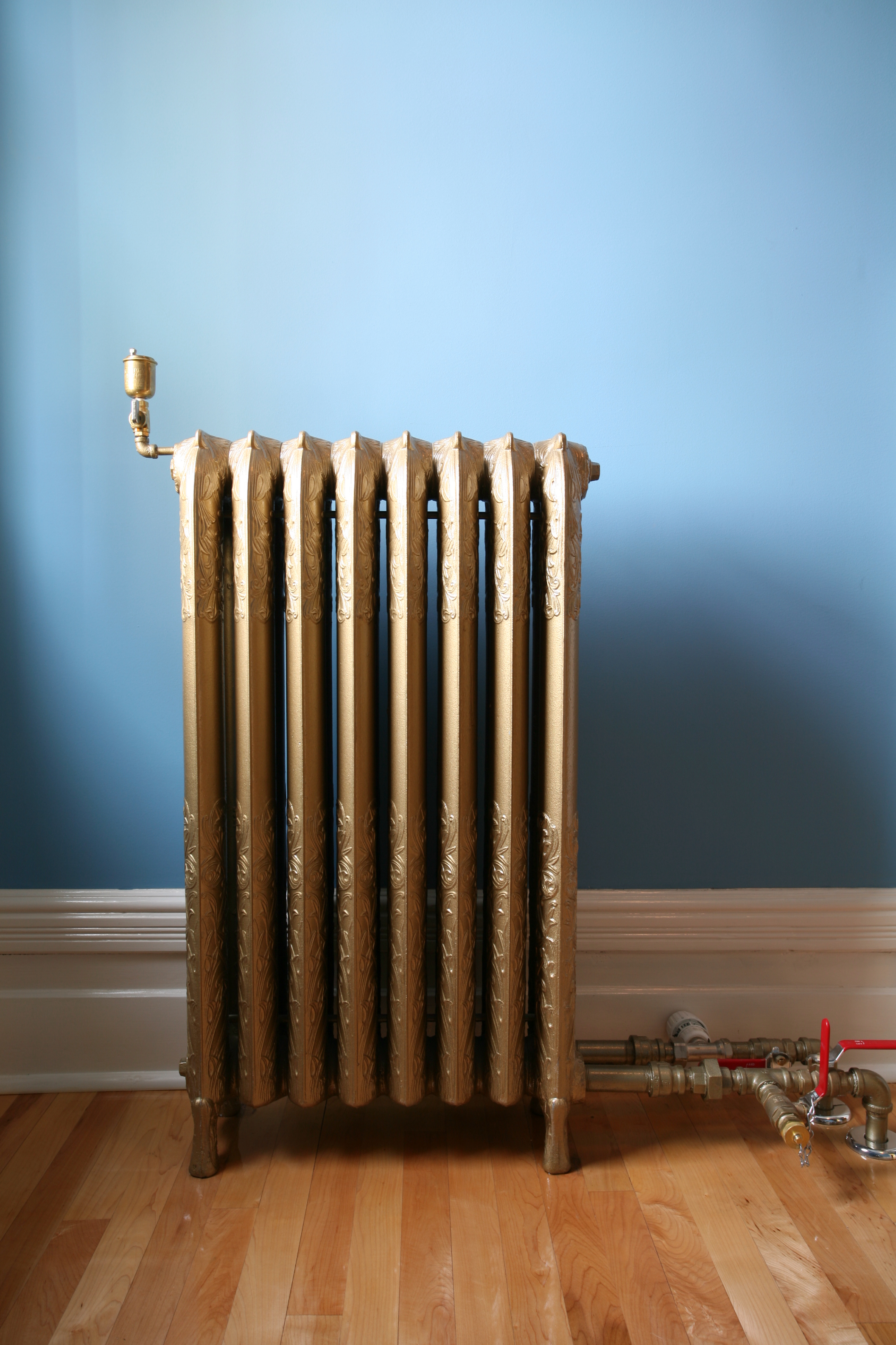 Image 3, Original steam heat radiator, 2006