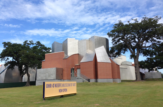 "Dedicated to the ""mad potter"" George Ohr, The Ohr-O'Keefe Museum in Biloxi -