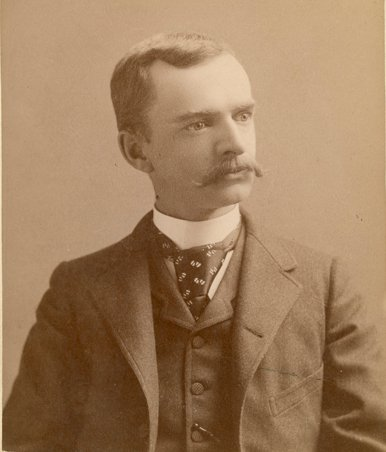 Edmond Burdick, town namesake (image from Edmond Historical Society & Museum)