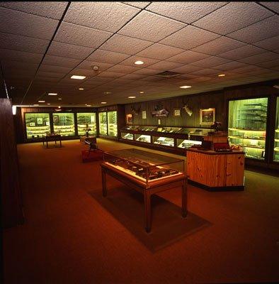 Woolaroc Museum gun room (image from the Woolaroc Museum and Wildlife Preserve)