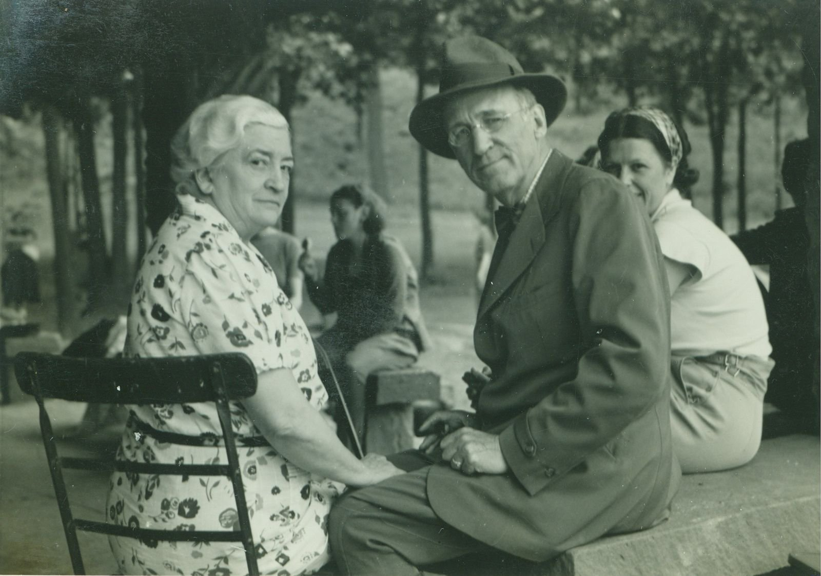 Frank and Jane Phillips (image from the Woolaroc Museum and Wildlife Preserve)