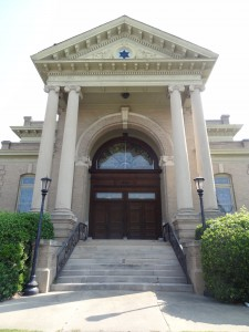 Hebrew Union Temple was built in 1906 and is the congregation's second temple.