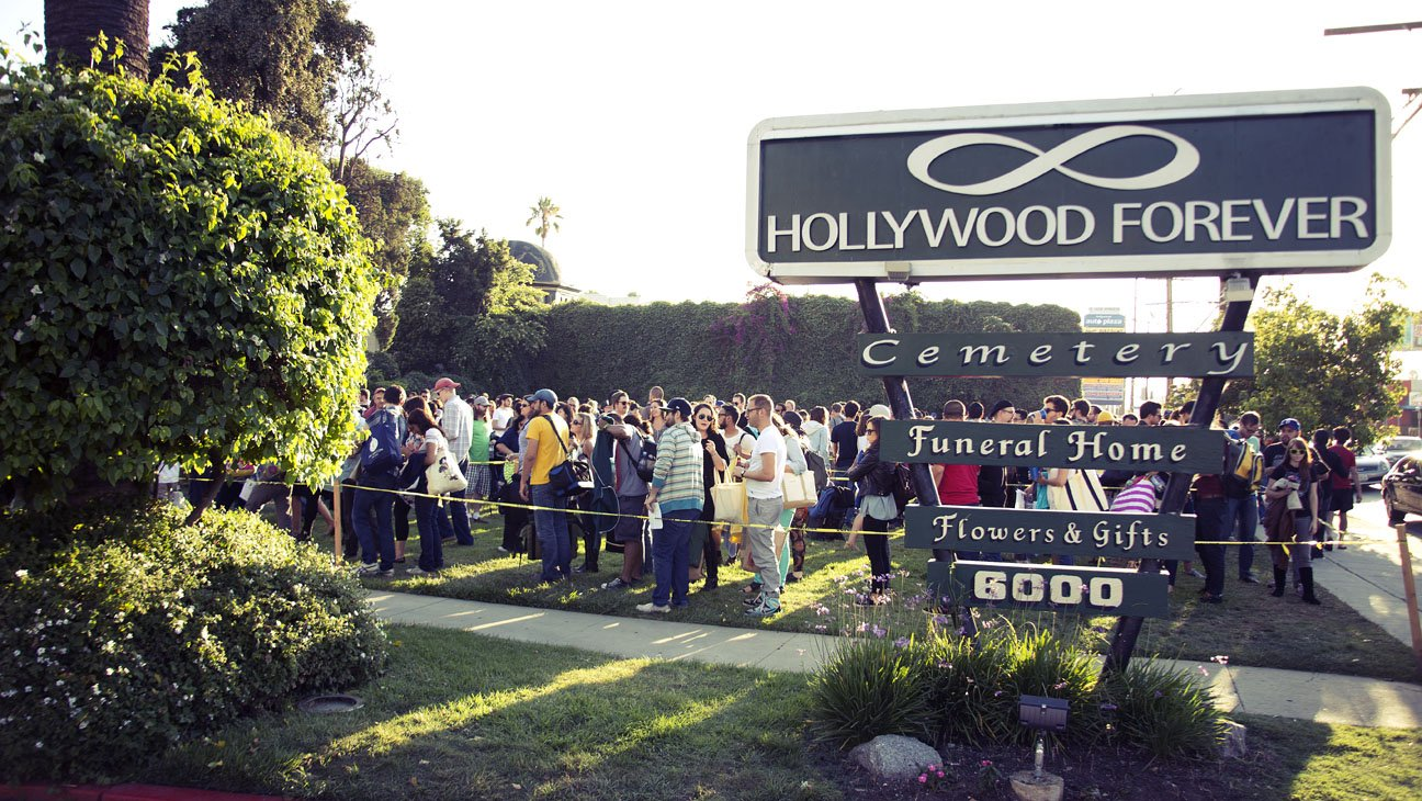 Entrance to the Hollywood Forever Cemetery
