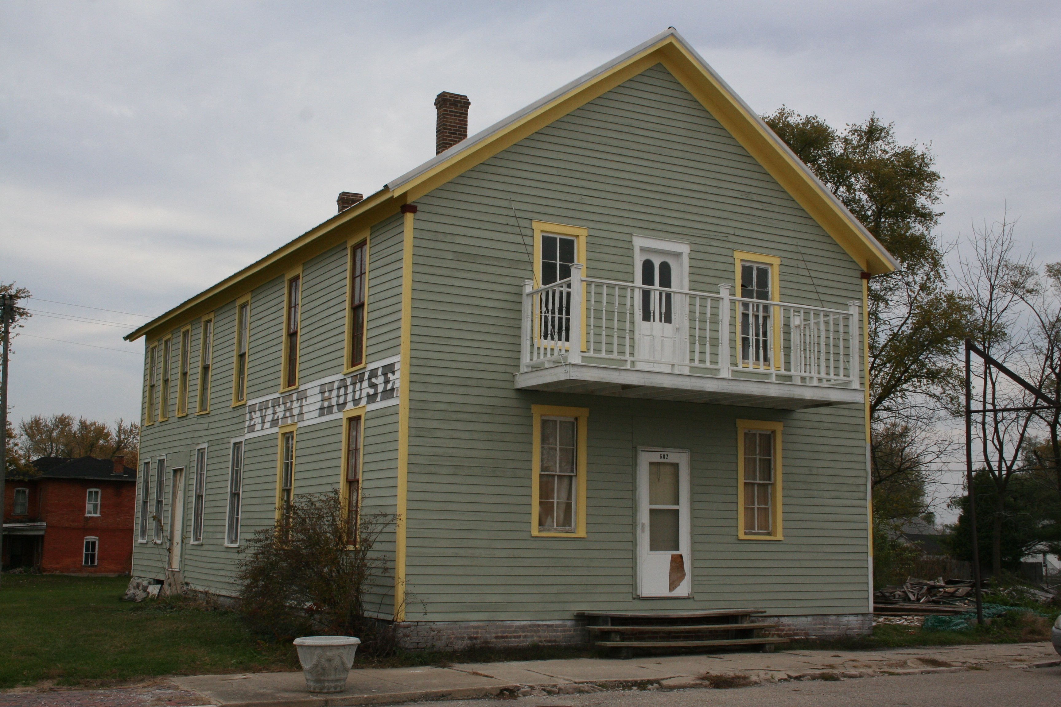 Evert House as it looks today.