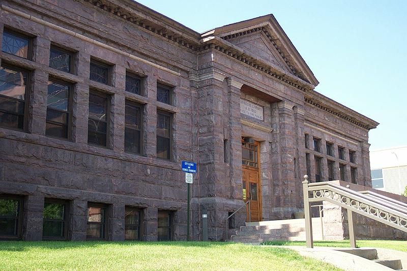 Carnegie Building (front)