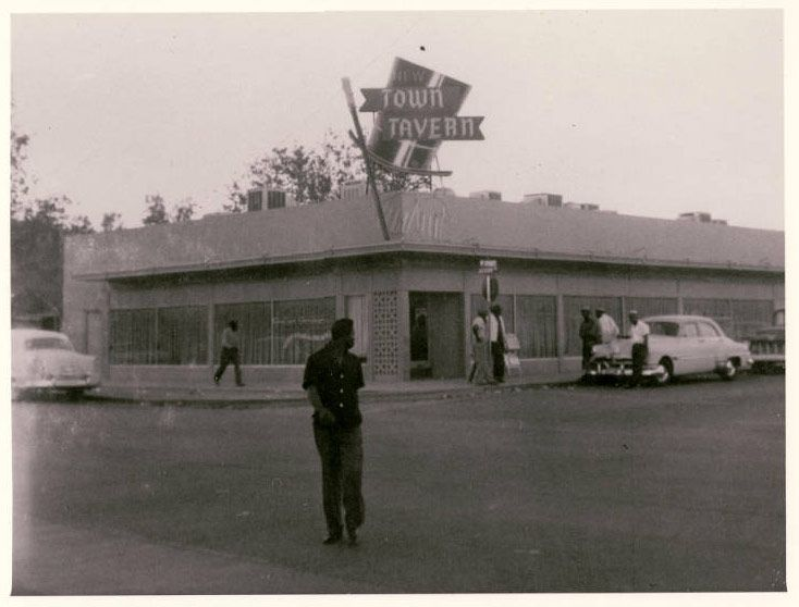 Town Tavern in the 1950s