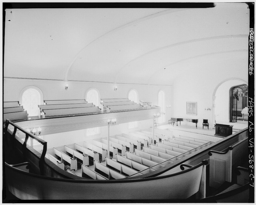 Looking down on the auditorium from the balcony, Jul 1968
