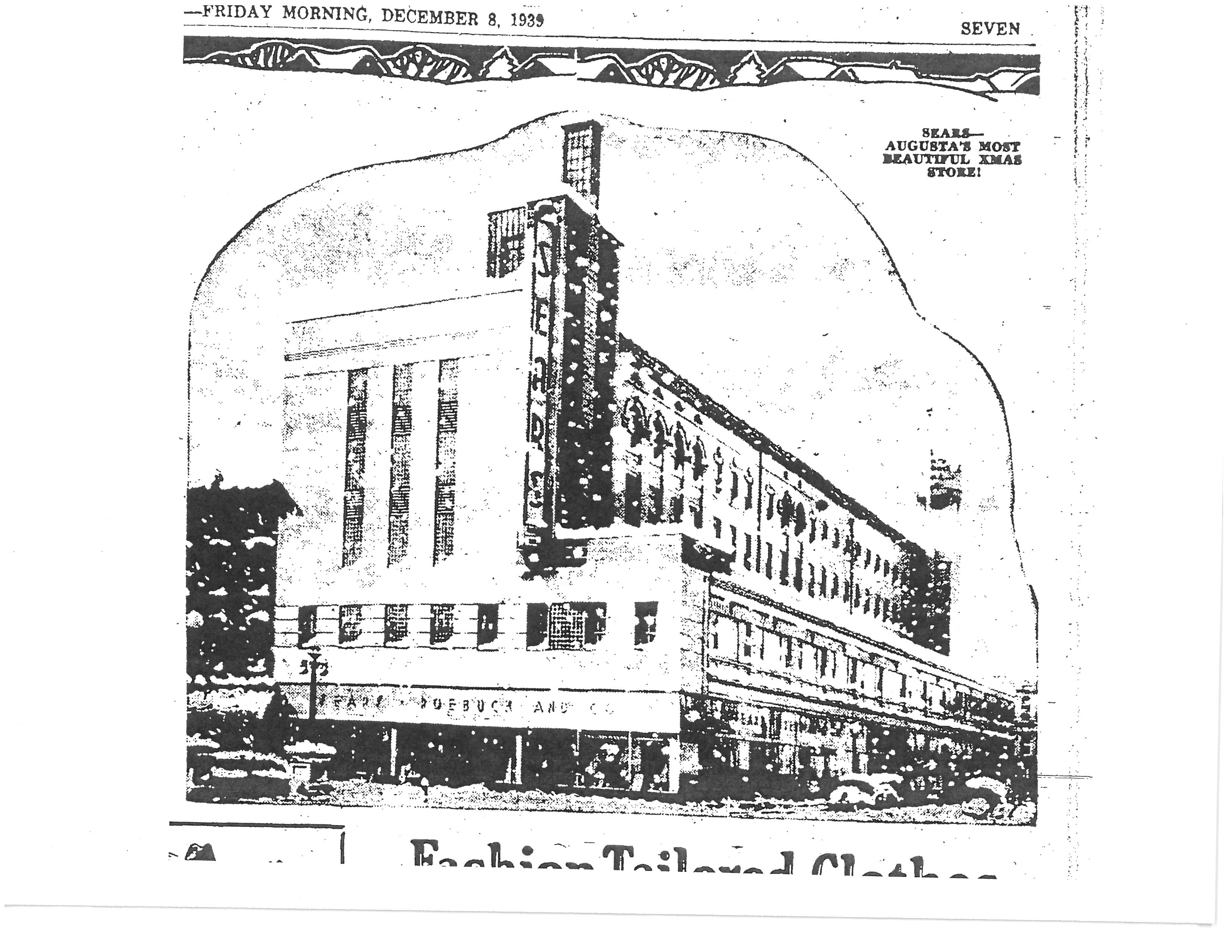 Sears Roebuck 1939
