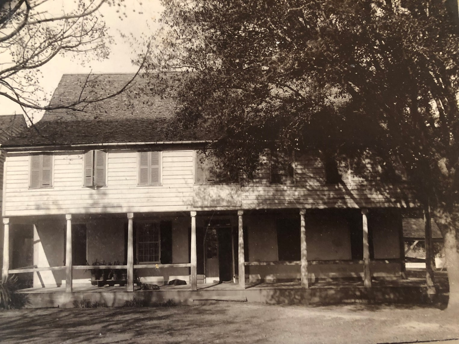 The original house donated by Mrs. Smith served as a school and residence until the 1830s when a new building was constructed. However, this house was still in use when it burned in a fire in 1914.