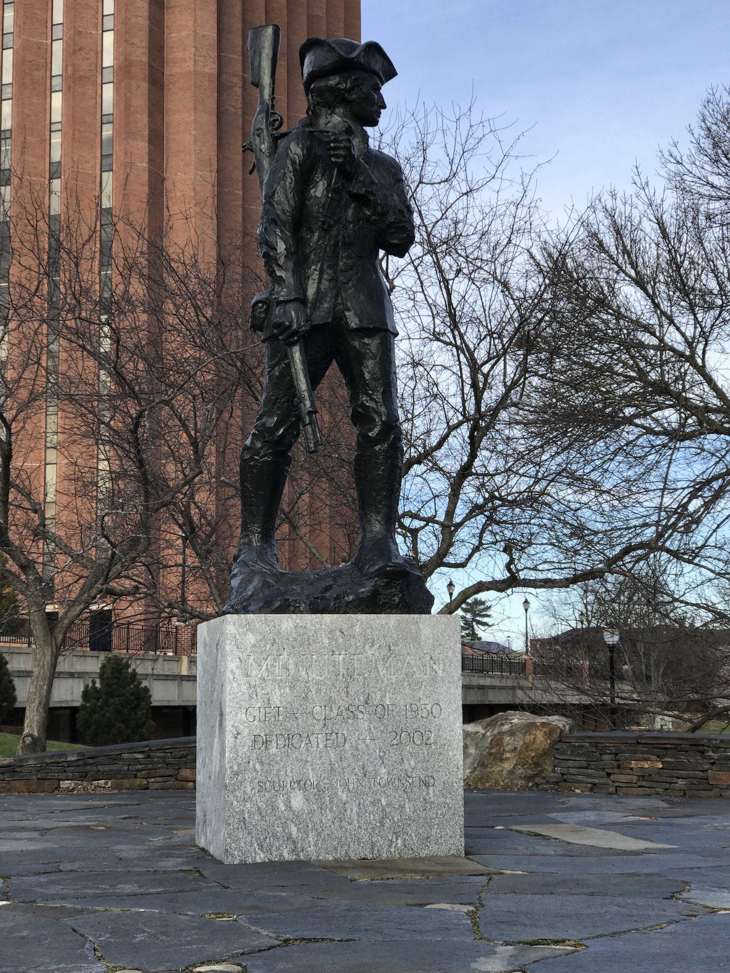 Minuteman Statue, 2017.
