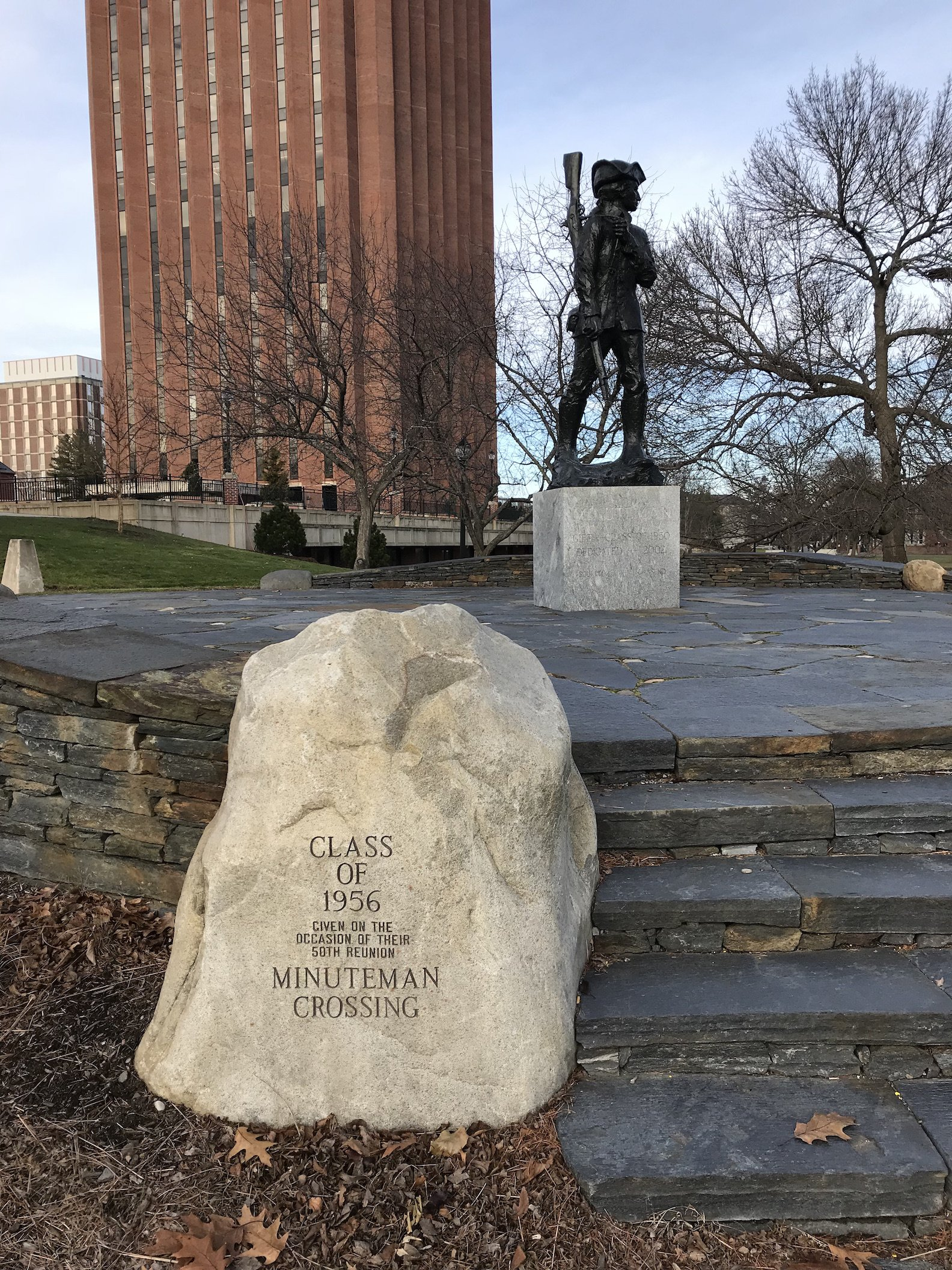 Minuteman Statue and Crossing, 2017.