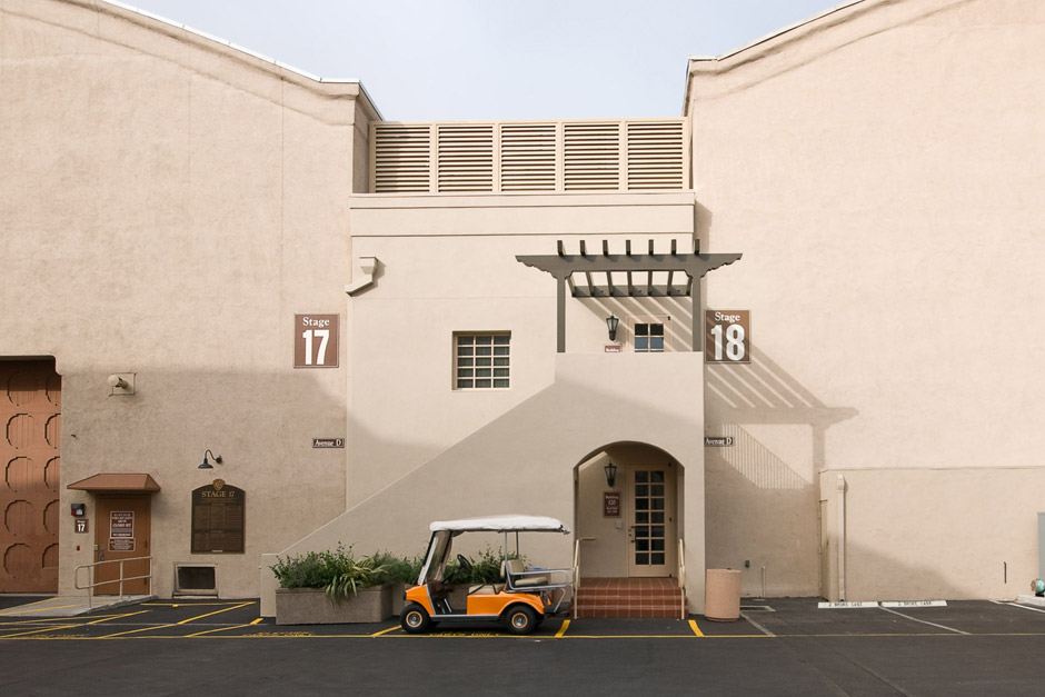 Stages 17 and 18 of Warner Bros. backlot