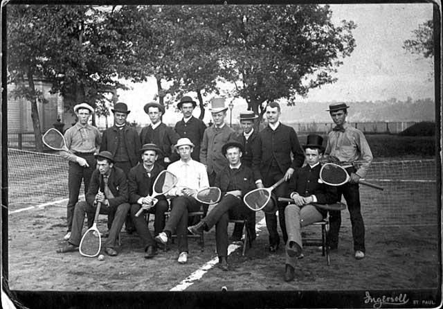 Delta Lawn Tennis Club at 223 Walnut Street (1885)