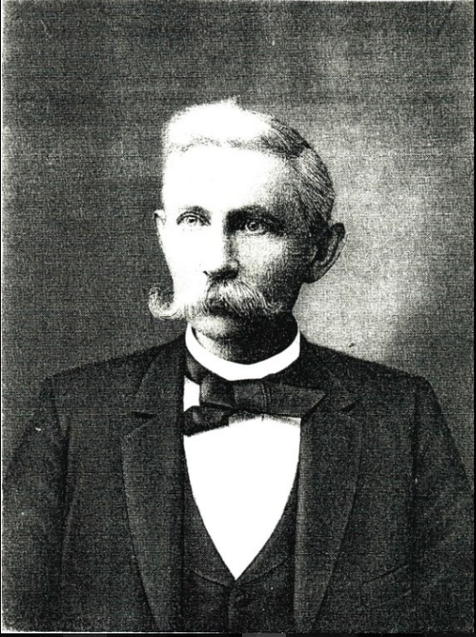 Morris Sharp (1838-1905) was a very influential resident of Washington Court House; he was affiliated with several businesses, owned much farmland, and once ran for governor. Image courtesy of the Fayette County Historical Society.