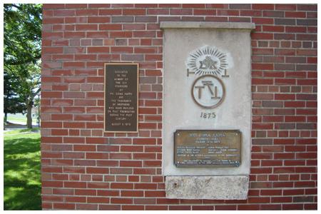 Phi Sigma Kappa Memorial.