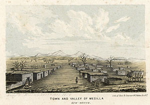 The First Battle of Mesilla occurred between Confederate and Union troops on July 25, 1861 in present day New Mexico.