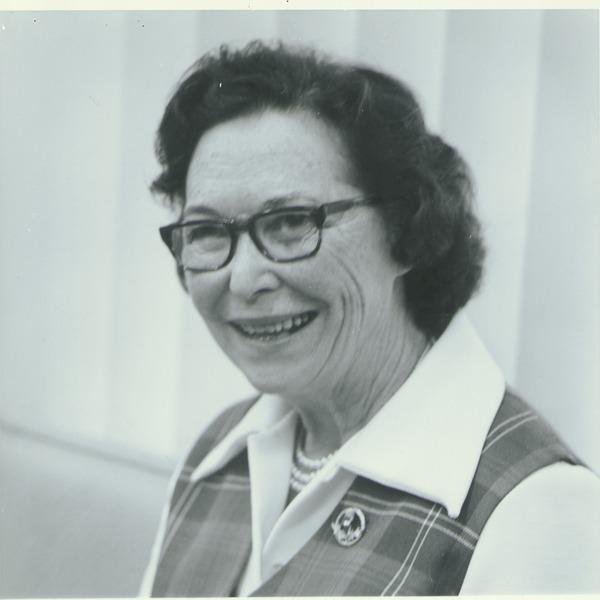 Helen Curtis, ca. 1972.