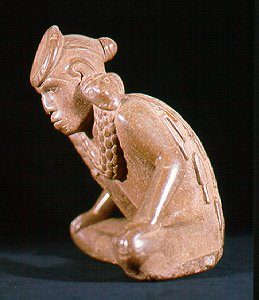 Statuette from Spiro Mounds (image from University of Arkansas Museum)