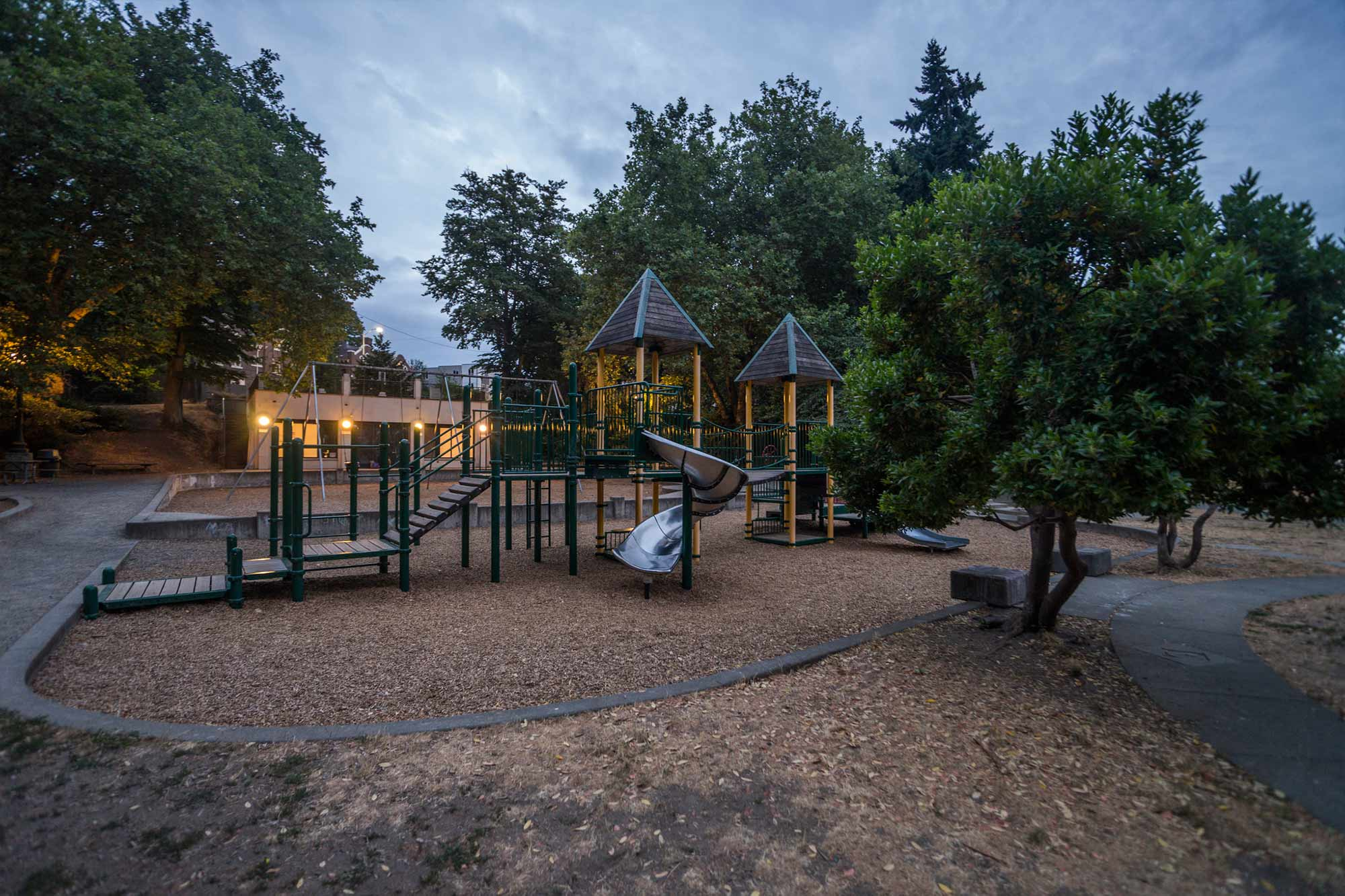 Cowen Park play structure