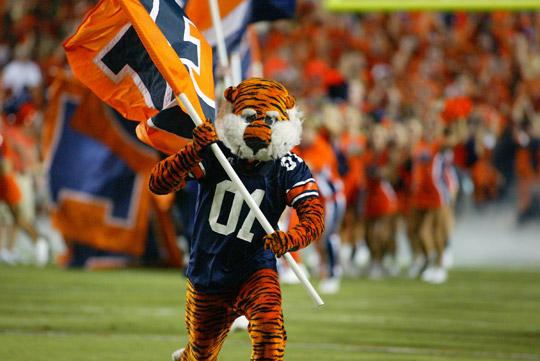 Auburn Football Mascot