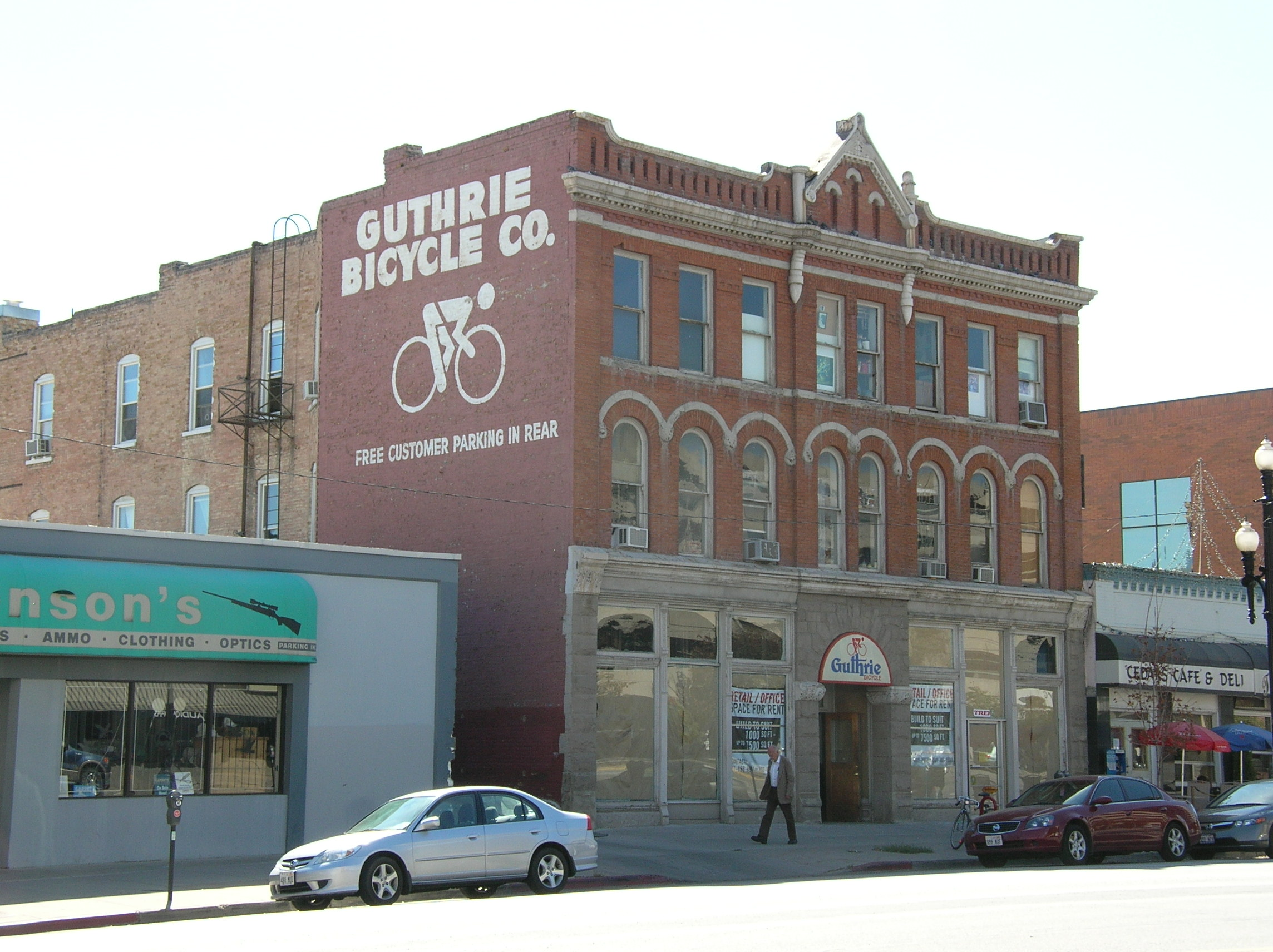Guthrie Bicycles: Called the building home from the 1930s to 2011.