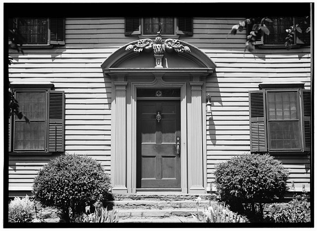 Front Entrance (Photo courtesy of the Library of Congress)