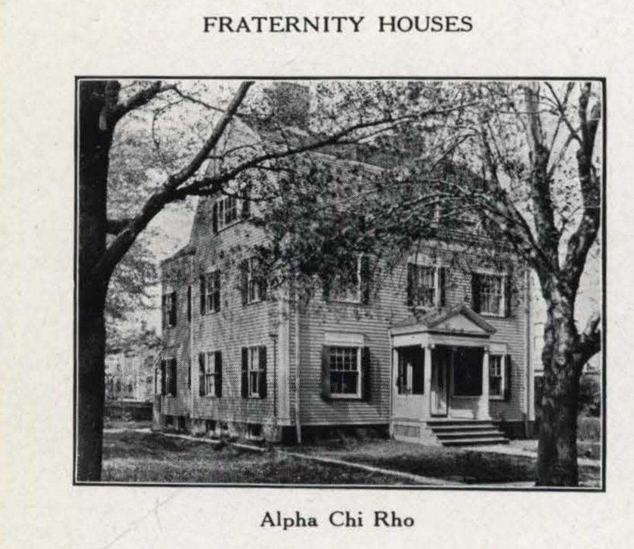 The Chapter House in 1916