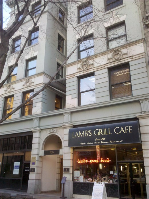Up until it's closing in 2017, the Lamb's Grill Cafe had been one of the longest operating restaurants in Utah. Lamb's originally opened its doors in 1919 but moved in 1939 to its final location on the ground floor of the Herald Building.