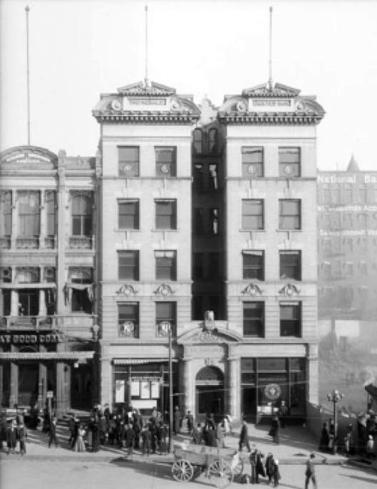 The original purpose of the Herald Building was to act as the headquarters of Pro-Mormon publication, The Salt Lake Herald. When they moved to this historic location in 1905, the Herald had already existed as a daily publication for over 30 years.