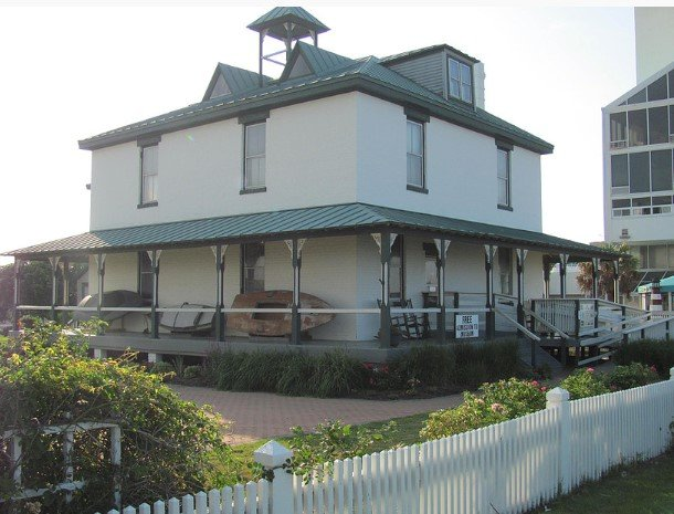 """""""The Gem of the Oceanfront."""" Atlantic Wildfowl Heritage Museum. Retrieved from: https://www.awhm.org/our-story.html"""