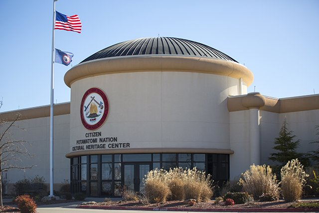 The Cultural Heritage Center (image from the Citizen Potawatomi Nation Cultural Heritage Center)