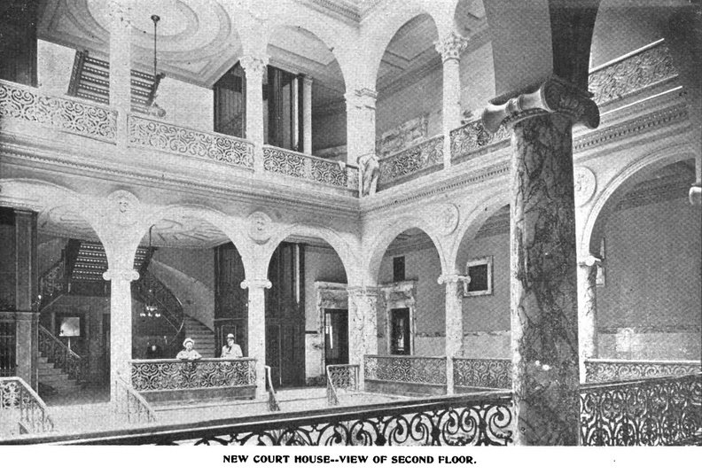 Courthouse Second Floor 1897