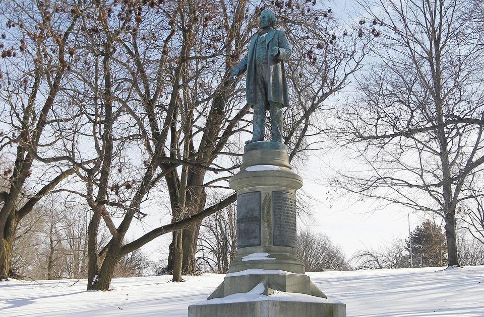 Frederick Douglass Monument in Highland Park