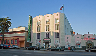 The outside of the Hollywood Museum, located in the Max Factor building.