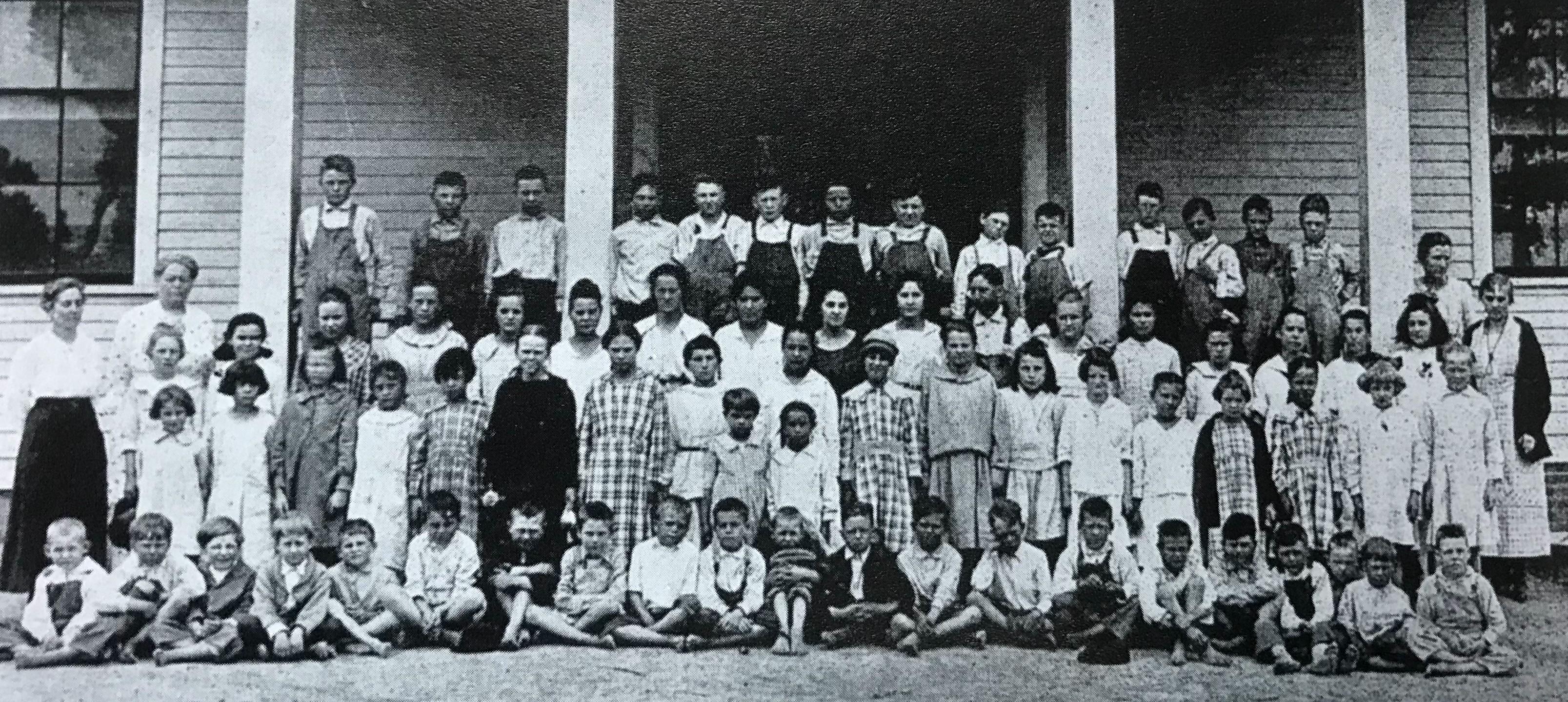 Vose School Students 1919