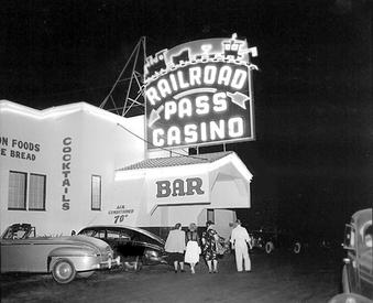 Railroad Pass Casino in the 1950s
