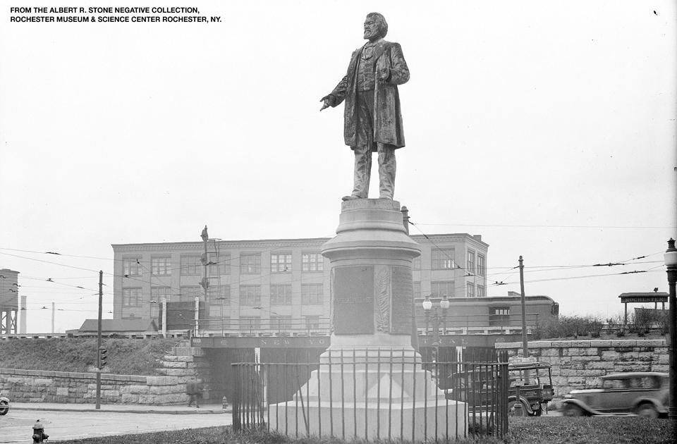 Frederick Douglass Monument Unveiled Site on the corner of the Central Avenue and St. Paul