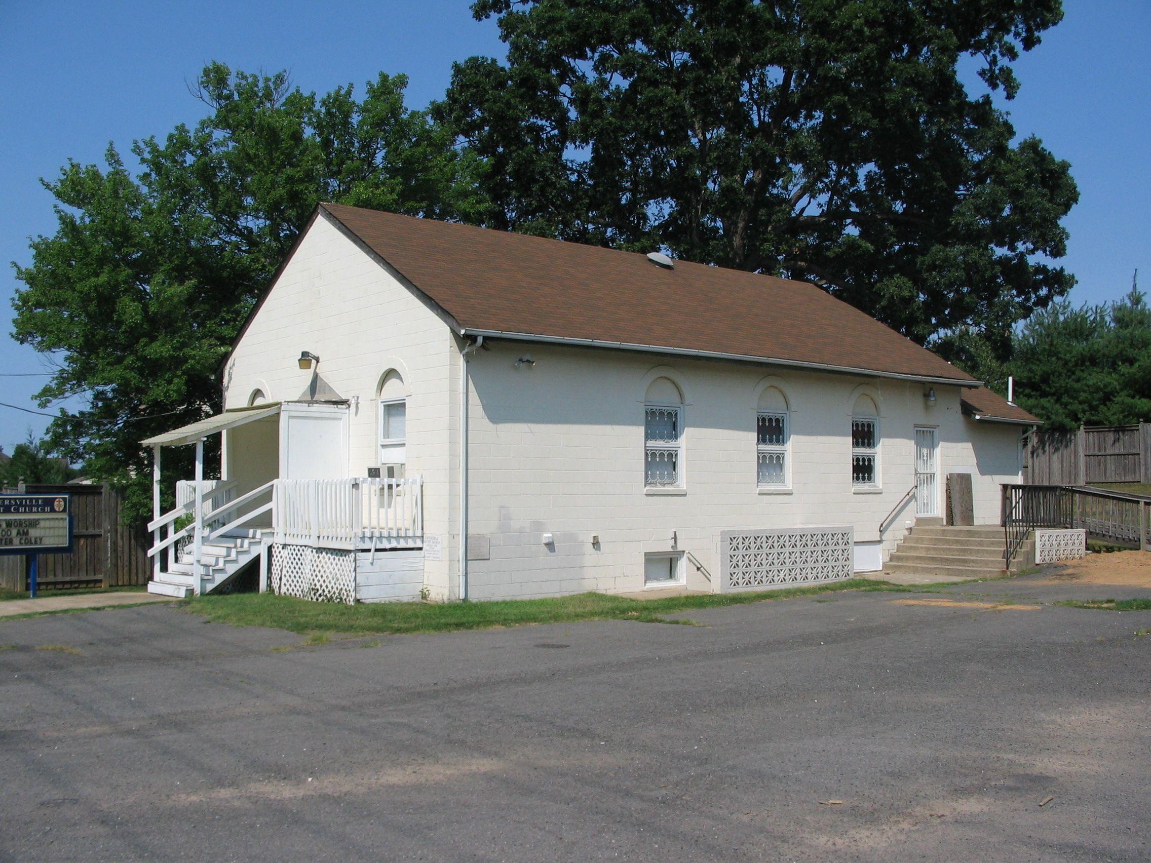 Cartersville Baptist Church, by Craig Swain on hmdb.org