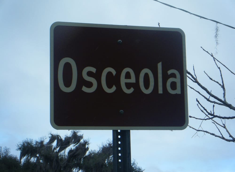 The old town of Osceola