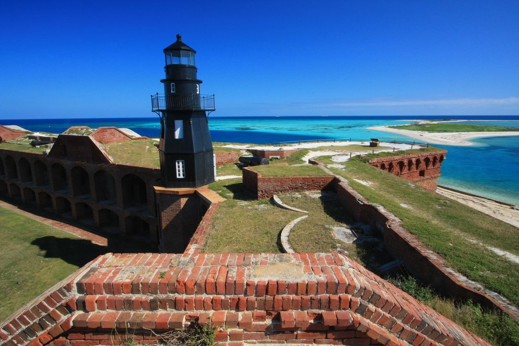 Fort Jefferson's architecture.