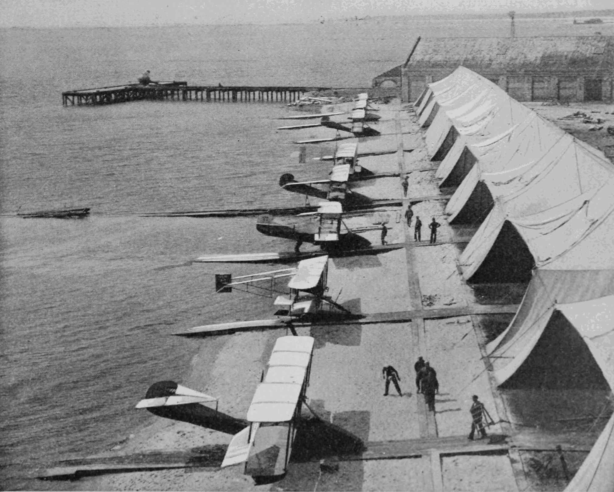 The NAS Pensacola in 1910