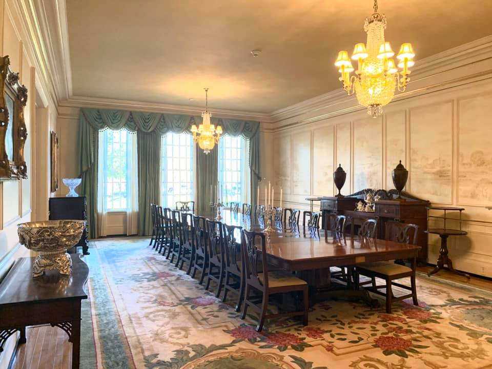 Primary Dining Room of Mansion