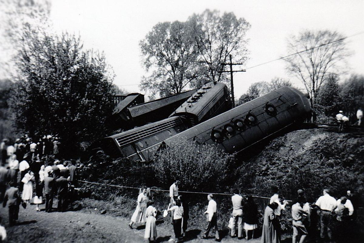 The 17 car derailment in 1949.